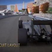 Le circuit de Monaco en 3D
