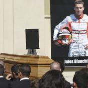 Le monde de la F1 rend un dernier hommage à Bianchi