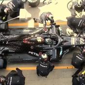 Le spectaculaire double arrêt de Hamilton et Bottas, symbole de la maestria de Mercedes