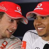 Lewis Hamilton et Jenson Button