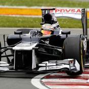 Maldonado devant les Red Bull