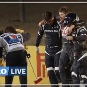Romain Grosjean sur son crash: «Je vois la mort, pas de très près, de trop près»