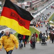 Une marche de soutien à Schumacher à Spa