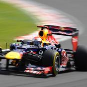 Seabstian Vettel Red Bull F1
