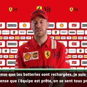 Vettel impatient d'en découdre : «On a hâte de reprendre la compétition»