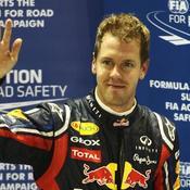 Vettel reste au sommet