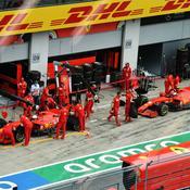 Week-end noir et alerte rouge pour Ferrari