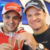 Felipe Massa, Rubens Barrichello