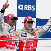 Hamilton et Alonso