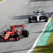 Leclerc résiste à Hamilton