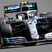 Bottas et Hamilton en première ligne à Bakou