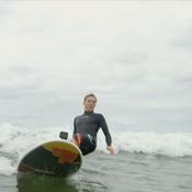 Quand Pierre Gasly s'essaye au surf