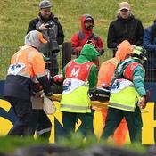 Lourde chute pour Fabio Quartararo lors des essais du GP d'Australie