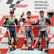 GP Australie: Marquez sans pitié, Quartararo chute encore