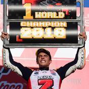 MotoGP : Marquez décroche une 5e couronne au panache