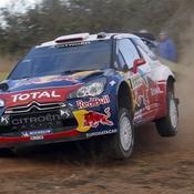 Sébastien Loeb sera handicapé par le balayage vendredi