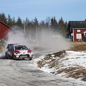 Rallye de Suède : Evans en tête dans des conditions «moins compliquées» que prévu