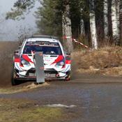 Rallye de Suède : Ogier monte provisoirement sur le podium