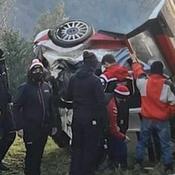 Rallye Monte-Carlo : Ogier victime d'une violente sortie de route