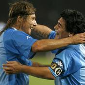 Claudio Caniggia -Diego Maradona