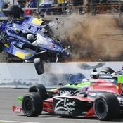 Indianapolis, Crash Mike Conway