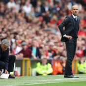 José Mourinho et Pep Guardiola
