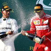 Vettel domine Hamilton