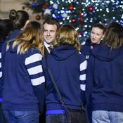 Emmanuel Macron, équipe de France handball féminin