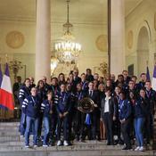 Macron, Maracineanu, équipe de France