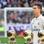 Cristiano Ronaldo et ses Ballon d'Or