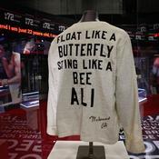 La carrière de Mohamed Ali a fait l'objet d'une exposition à Londres
