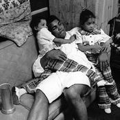 Mohammed Ali avec ses enfants