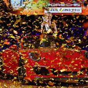 Laura Siegemund dans sa nouvelle Porsche