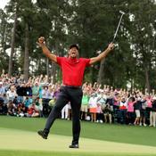 Tiger Woods dans la llégende