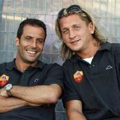 Ludovic Giuly et Philippe Mexes