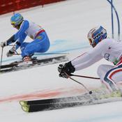 Fanara (à d.) contre le Suédois Olsson