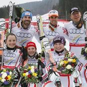 L'équipe de France de ski
