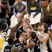San Antonio-L.A. Lakers, Game 4