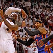 LeBron James-Carmelo Anthony