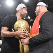 Tony Parker et Zvezdan Mitrovic