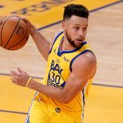 49 points, 10 paniers à trois points... Curry toujours en état de grâce