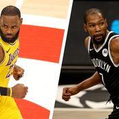 LeBron James et Kevin Durant