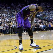Lakers : plus de peur que de mal pour LeBron James