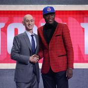 Doumbouya drafté par Detroit : «Les Pistons, c'est parfait pour moi»