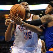 Kevin Durant face à Carmelo Anthony