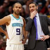 Tony Parker et James Borrego