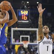 Golden State passe ses nerfs sur Brooklyn