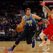 Harden ne suffit pas à San Antonio, Doncic inarrêtable contre les Pelicans