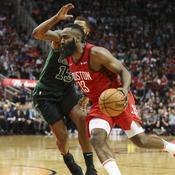 Harden se fâche et Houston punit Boston