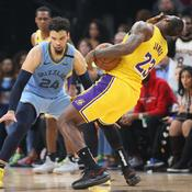 Houston climatise Boston, les Lakers chutent lourdement à Memphis